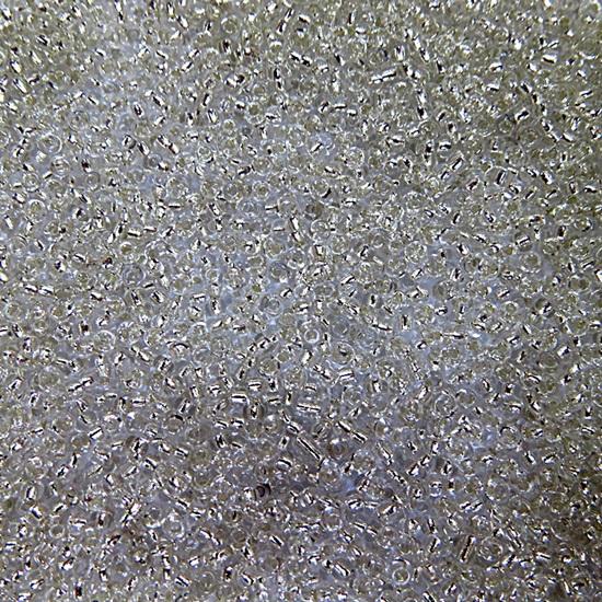Miçanguinha chinesa cristal metalizado (50grs)- MIP008