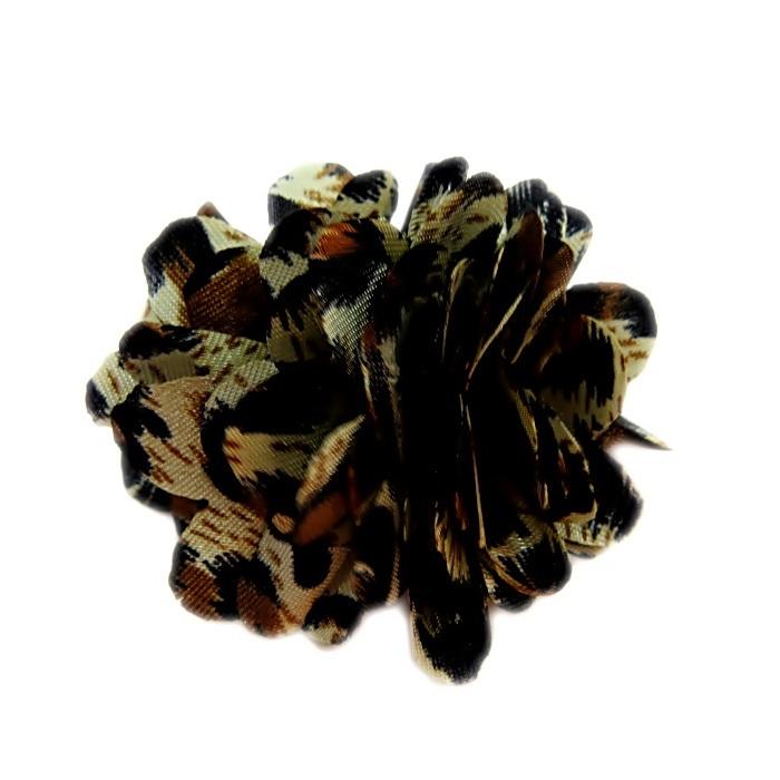 Flor de tecido de oncinha- FL005