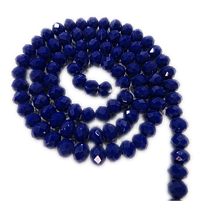 Fio de cristal chinês Nº 06 azul bic- CC007