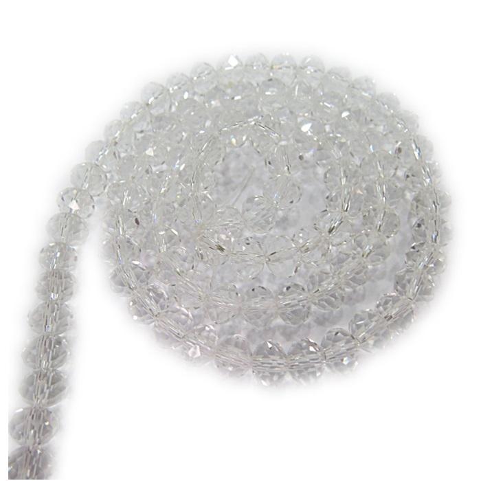 Fio de cristal chinês Nº 06 cristal - CC014