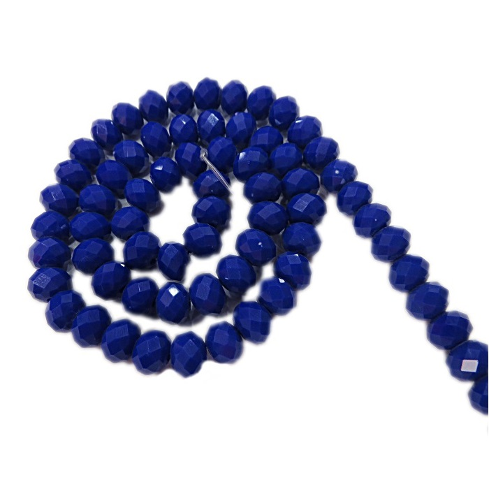 Fio de cristal chinês Nº 08 azul bic - CC032