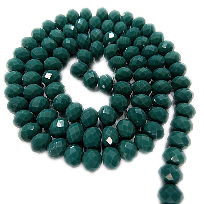 Fio de cristal chinês Nº 08 verde - CC036
