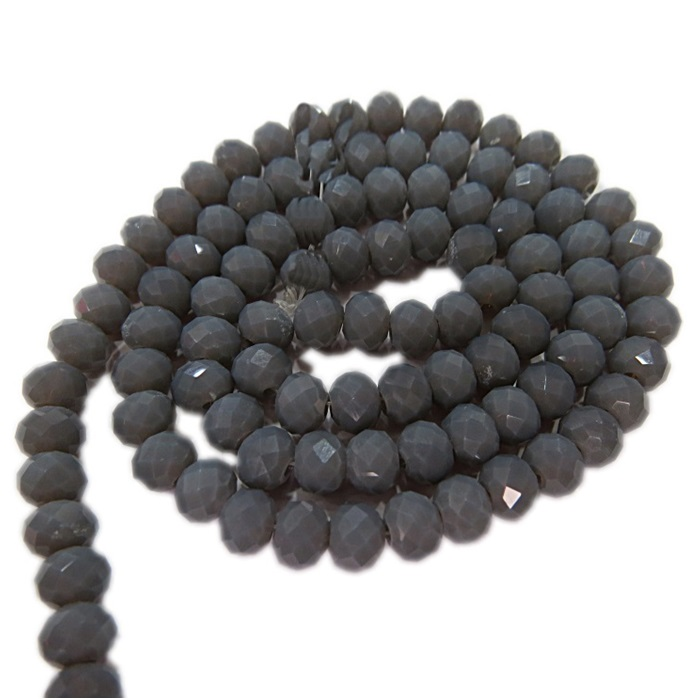 Fio de cristal chinês Nº 10 black diamond opalino- CC063