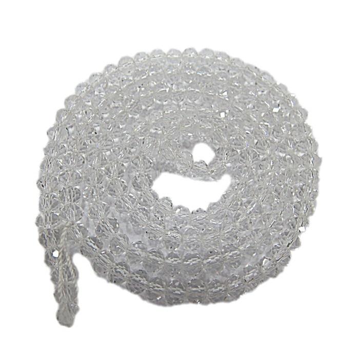 Fio de cristal chinês Nº 12 cristal- CC085