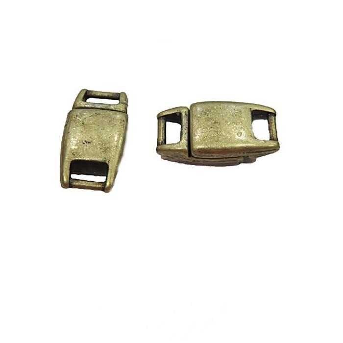 Fecho Ima ouro velho pequeno (01 unid.)- FIO001