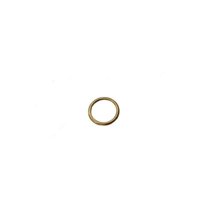 Argola de metal ouro velho 3,5cm (10 unidades)- AV002