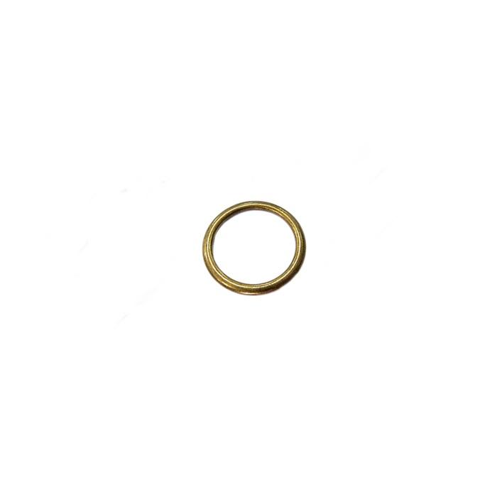 Argola de metal ouro velho 3,0cm (10 unidades)- AV003