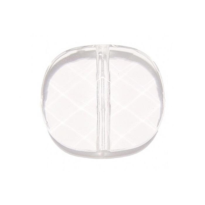 Bolacha de acrílico transparente- ACR001