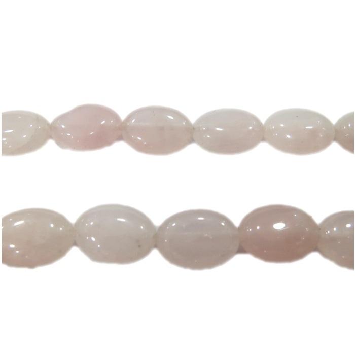 Quartzo rosa pastilha oval- PDN108