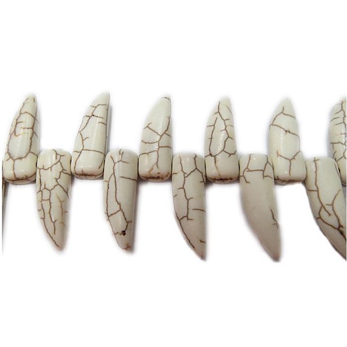 Dente howlita branca- PDN187