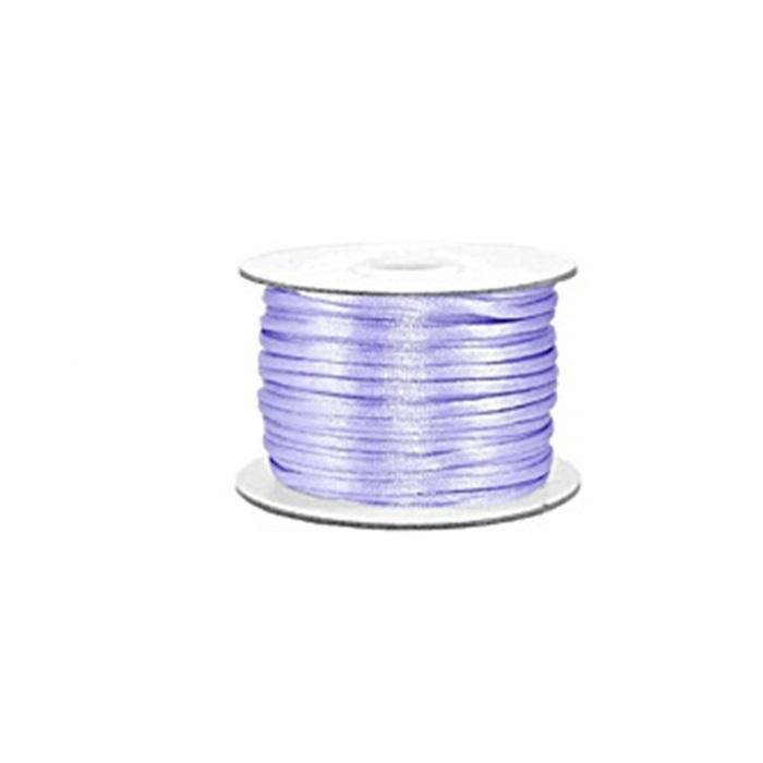Cordão de seda grosso lilás (50 mts)- FSG005 ATACADO