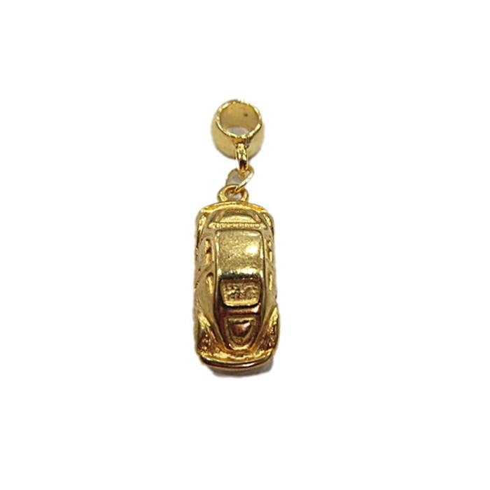 Berloque Dourado Fusca BED040