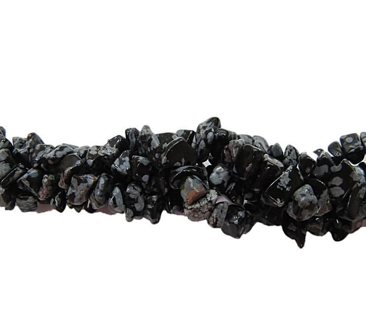 Cascalho natural obsidiana nevada- CAS015