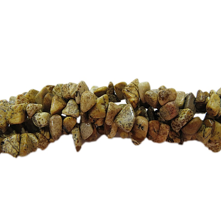 Cascalho natural jaspe madeira- CAS021