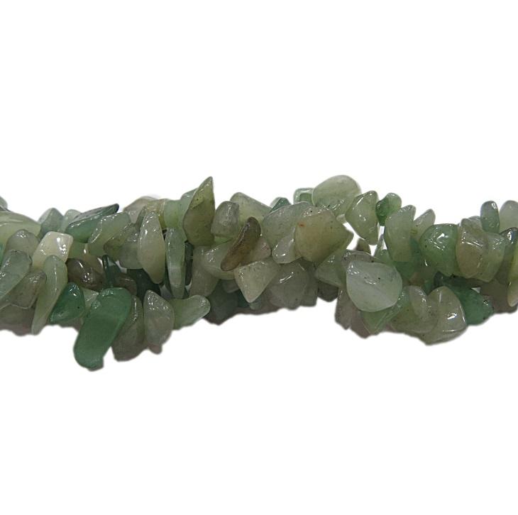 Cascalho natural quartzo verde - CAS044