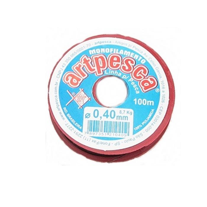 Nylon Preto 0,40- NA006- ATACADO