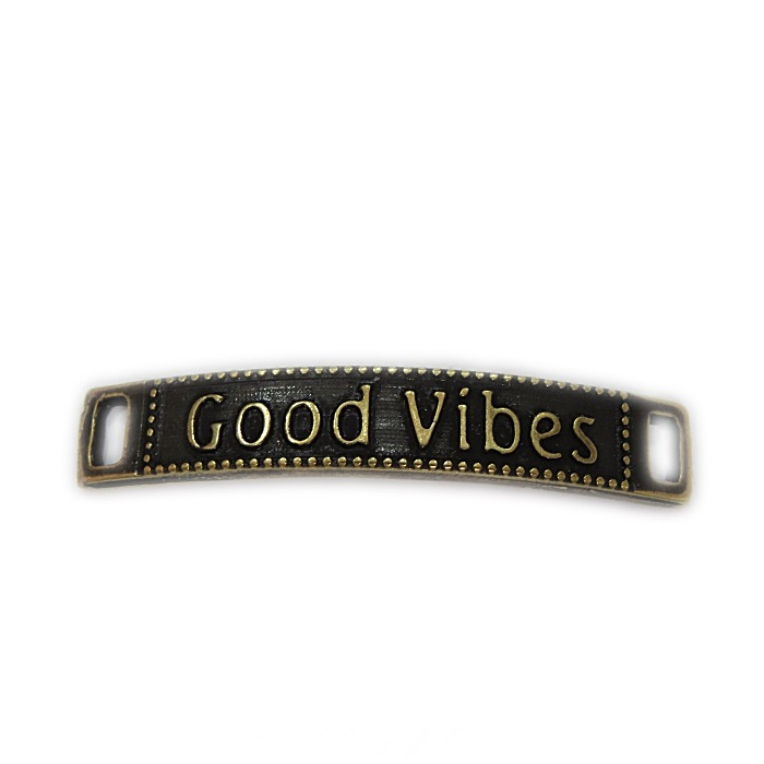 Entremeio ouro velho placa good vibes- EO063