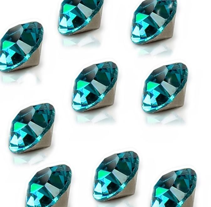 Strass blue zircon SS04 (20 unid.)- ST147
