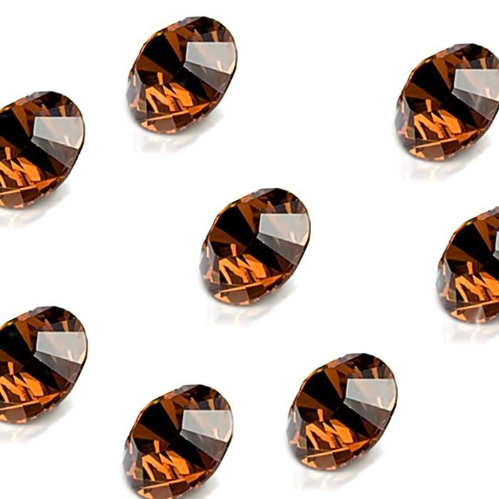 Strass smoked topaz SS28 (04 unid.)- ST169