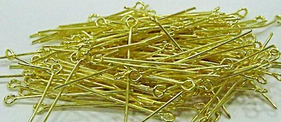 Contrapino latão dourado Nº 30mm ou Nº 50mm (25 gramas)- CLD001