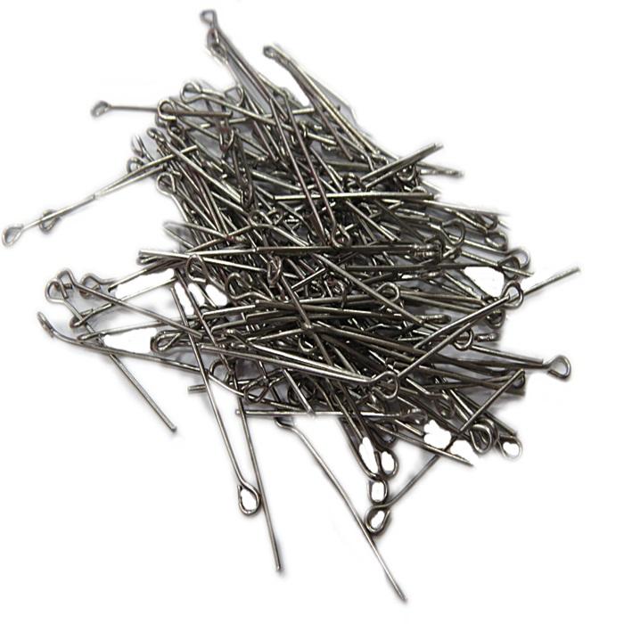 Contrapino ferro grafite Nº 30mm ou Nº 50mm (25 gramas)- CFG001