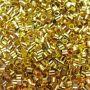 Fixador dourado Tubinho M (500 unid.)- FIXD002