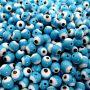 Olho grego azul turquesa Nº 06(1.000 unidades)- OG005 ATACADO