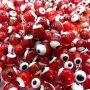 Olho grego vermelho Nº 08 (20 unidades)- OG031