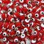 Olho grego pingente vermelho (20 unidades)- OGP004