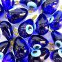 Olho grego pingente gota azulão- OGP032