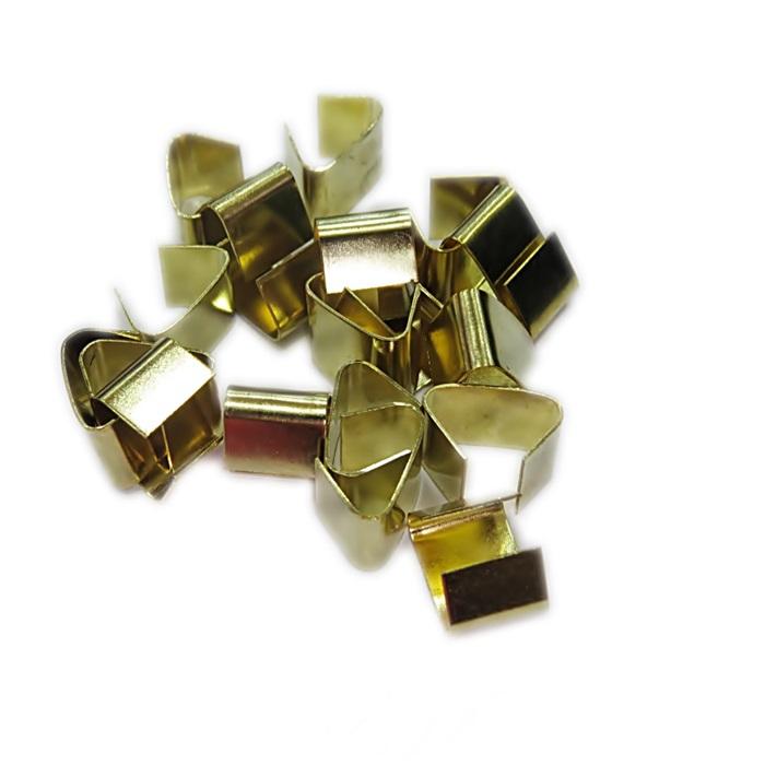 Terminal de amassar de chinelo dourado M (08 unid.)- TAD002