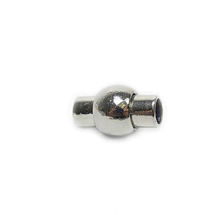 Fecho ima níquel c/ bolinha N° 05, 06, e 07mm - FIN002