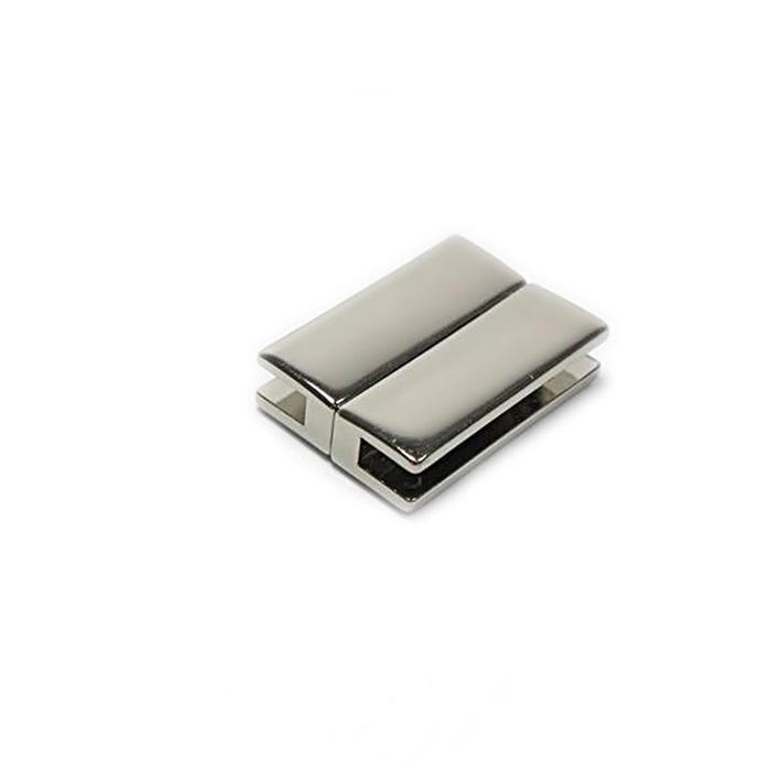 Fecho ima níquel Retangular P (01 unid.)- FIN006