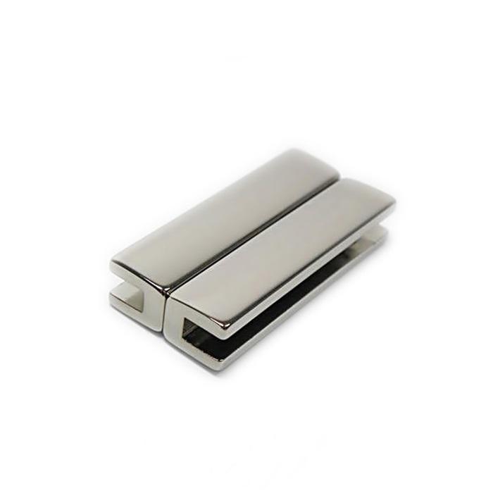 Fecho ima níquel Retangular G (01 unid.)- FIN007