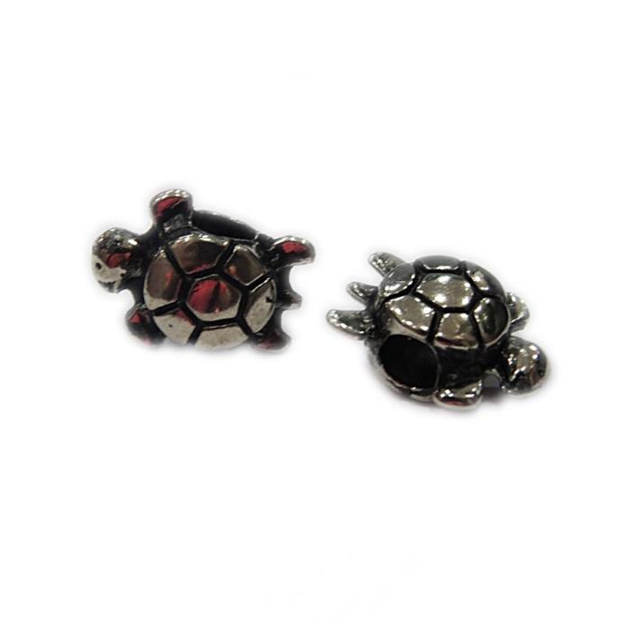 Berloque níquel envelhecido tartaruga- BEN342