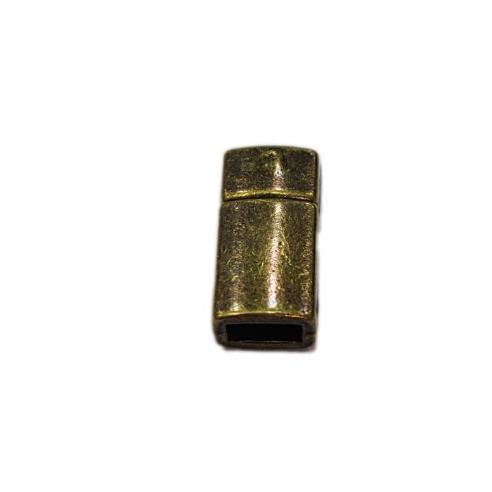 Fecho ima níquel retangular P (01 unid.)- FIO018