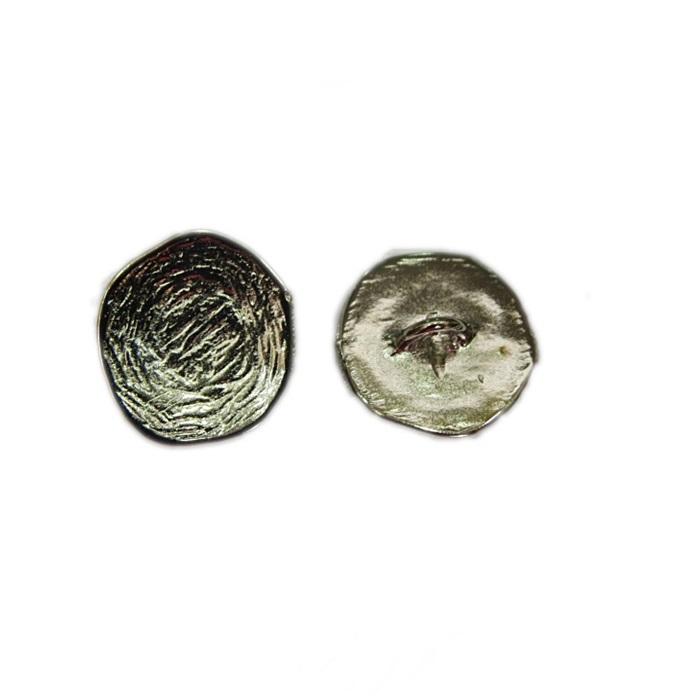 Fecho botão Chan luu níquel G (10 unid.)- FBTN002