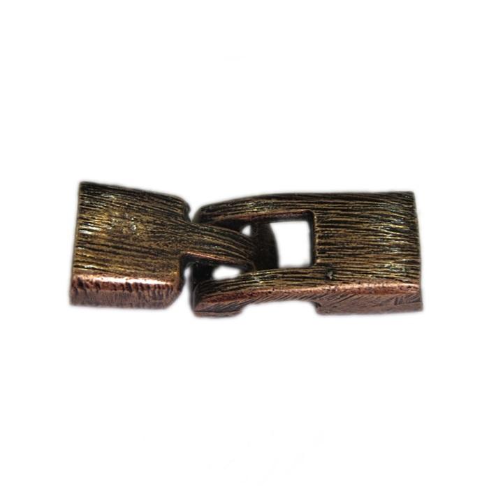 Fecho cobre de encaixe M (02 unid.)- FAC005