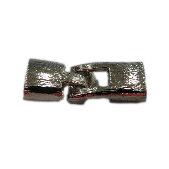 Fecho níquel de encaixe M (01 unid.)- FEN002