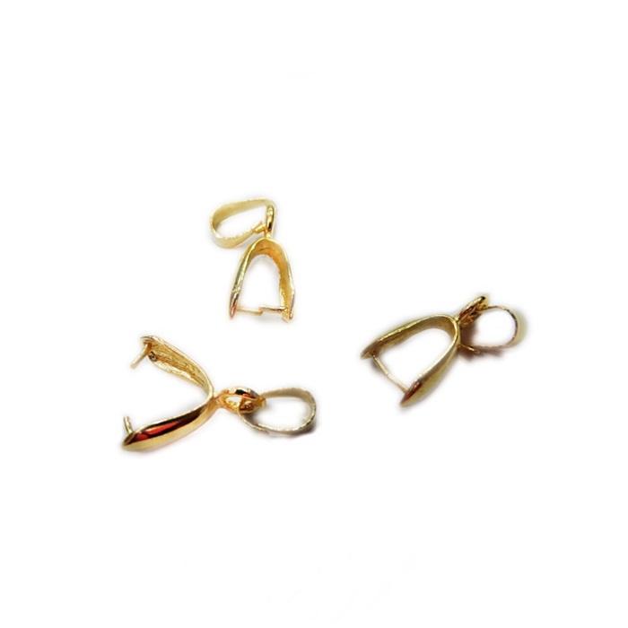 Jacare dourado M (06 unid.)- JCD002