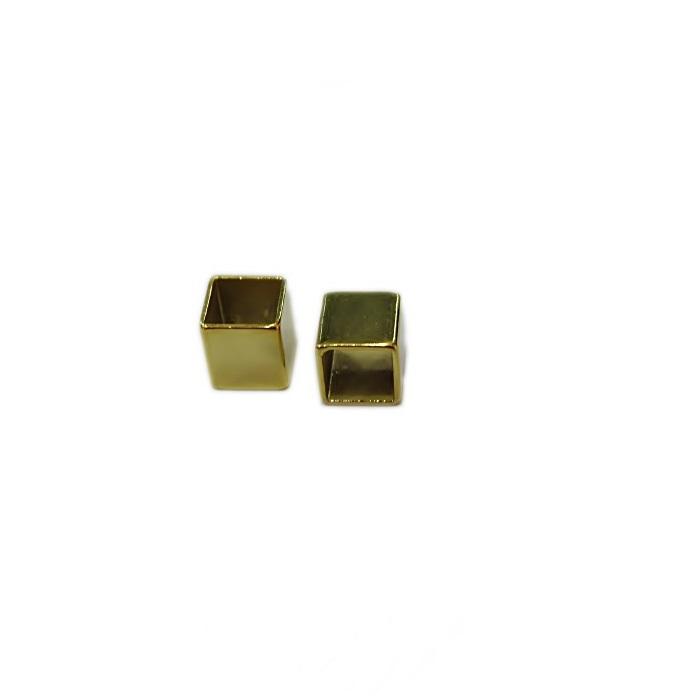 Entremeio dourado quadradinho (Atacado e Varejo)- ETD013