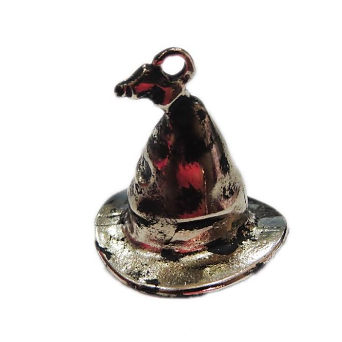 Pingente chapeu bruxo Harry Potter níquel envelhecido- PTN123