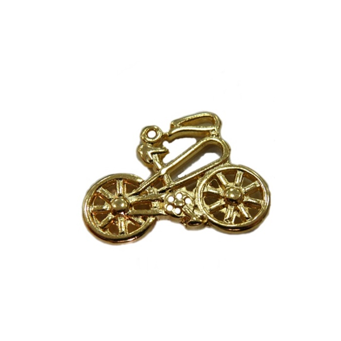 Pingente Bicicleta dourada- PTD028