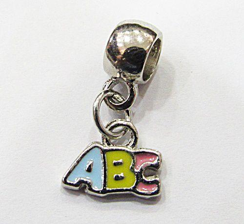 Berloque Pingentes Niquel ABC - BEN843