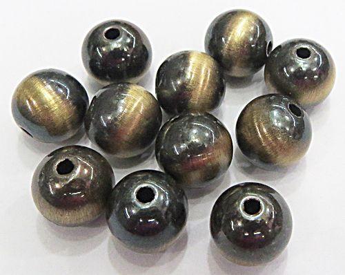 Bolinha ABS Olho De Tigre N°06,08,10 e 12mm (25 Gramas)  - EABS027