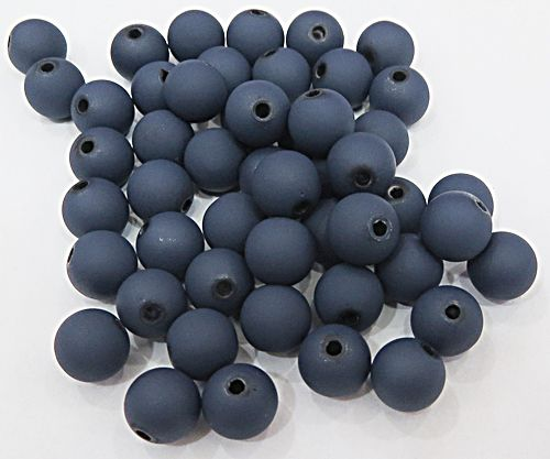 Bolinha Emborrachada Azul Marinho N° 06,08,10,12,14 e 16mm (25Gramas) - BF023