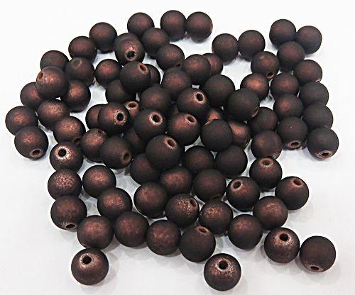 Bolinha Emborrachada Marrom metalizado N° 06,08,10,12,14e16mm-(25grs)-BF015