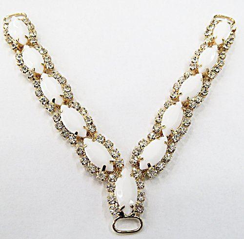 Cabidal Dourado Para Costura Navetes Branca (01Par) - CBD022