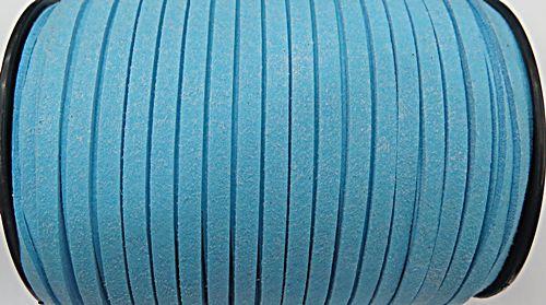 Camurça 5mm Azul Bebe Atacado/ Varejo - CG072