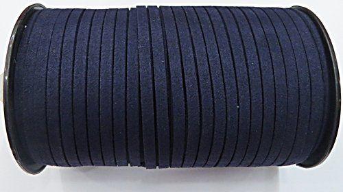 Camurça 5mm Azul Marinho (100Metros) - CG057 ATACADO